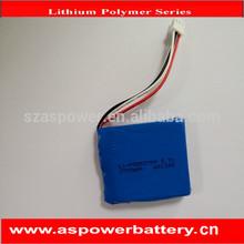 rechargeable 553759 1S2P 3.7v 2700mah li polymer battery pack