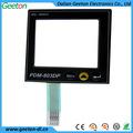 china lcd personalizado eléctrica cuadrada teclados de membrana del panel de proveedores