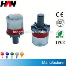 IP68 Flashing traffic cone cover (Plastic base or Aluminium base)