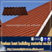 high quality metal building materials/Laminated asphalt roof/zinc aluminium roofing tiles