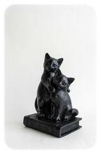 "Shungite Schungite Figure ""Two Cats"""