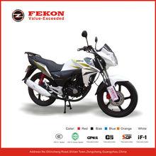 new white street motorcycle