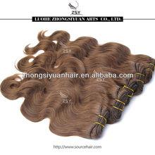 ZSY wholesale premium brand wave double weft virgin brazilian hair