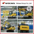 china 13 toneladas de trabajo de la máquina excavadora excavadora con piezas de repuesto en nueva excavadora cabina