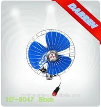 8 inch 12v dc CE Oscillating Auto Cool Car Fan
