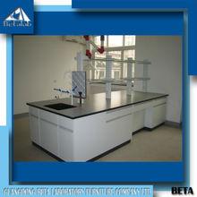 University Laboratory Furniture High Quality Granite Lab Tables Island Workbench with Sink Laboratory Desk