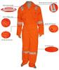hot reflective top quality EN20471 hi vis clothing for sale
