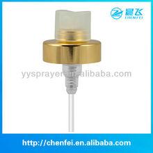 alluminum vaporizer spray pump gold 18MM