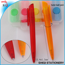 novelty items for sell plastic twist ball point pen