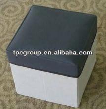 Foldable Storage Box/Ottoman/Seat/Stool