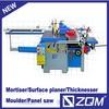 five functions, woodworking combination machine