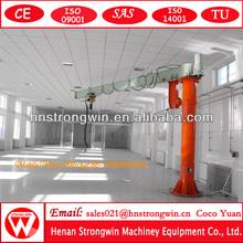 Cheap small size BZ model high quality full rotation 500kg jib crane