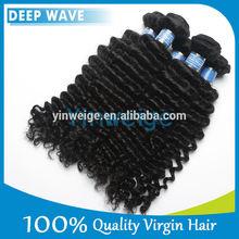 "hair extensions tracks Quality Cheap Intact 100% Virgin Peruvian Hair Deep wave 20""-24"""
