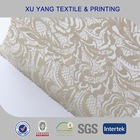 2014 New net mesh jacquard fabric for Lingerie & Underwear paisley flower with textured in nylon spandex 95/5