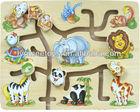 Safari maze puzzle game for kids