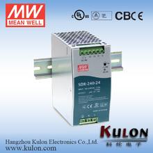 Meanwell SDR-240-24 24v 10a 240w Meanwell SDR-120-48 48V 2.5A 120W 24v 2.5a ac power supply