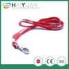 hot sale tubular polyester lanyard with metal clamp