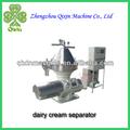 De descarga automática de tipo crema de leche y productos lácteos qixinz50-02 separador