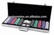 500 poker chip set In Aluminum Case