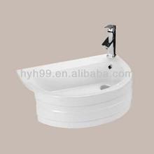 Bathroom Ceramic Vanity Top Washbasin Design