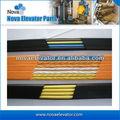 Flat cabo de elevador de cabo de elevador, viagem de elevador para cabo de elevação sistema de controle