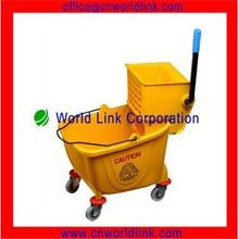 36L Plastic Single Industrial Mop Buckets