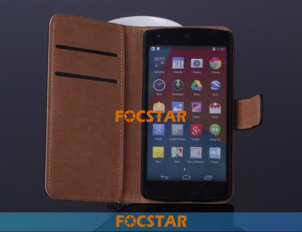 FOCSTAR Nexus 5 Genuine Leather Case F-GGNEXUS5LC001