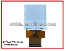 1.77 inch TFT LCD module with touch screen panel, LCD with LED backlight, resolution128RGBX160