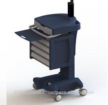 ABC-110M-Li Anti-Bacterial electric height adjustment Medical computer cart