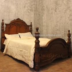 Antique Bedroom Furniture - Antique Victorian Four Poster Bed