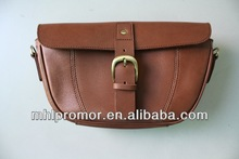 Bicycle Genuine Leather Frame Bag
