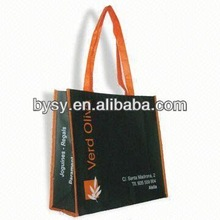 Promotional PET non woven bag with zipper