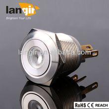L19M-F/S/D metal ring illuminated push button