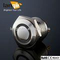 Ls16-f / M1 / N / R 16 mm push button switch avec lampe témoin