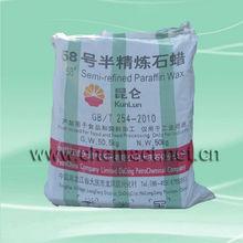 Kunlun Semi Refined Paraffin Wax 58-60 DEG. C