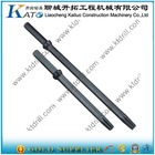 Small hole hollow drill rod H22