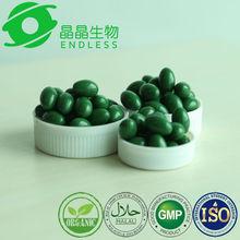 100% organic natural high protein spirulina capsule