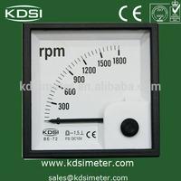 analog speedometer rpm meter induction tachometer