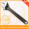 Nickel-plated adjustable auto wrench