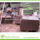 Cheap red limestone blocks