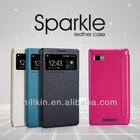 NILLKIN Sparkle Flip Mobile Case For Lenovo K910 (VIBE Z)
