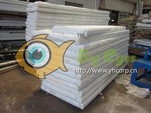 panel sándwich de poliuretano se utiliza para el almacenamiento de pescados y mariscos uso aislado de la pared interior del panel