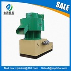 Vertical ring die machine to make wood pellets