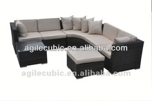synthetic wicker rattan outdoor furniture 2 patio