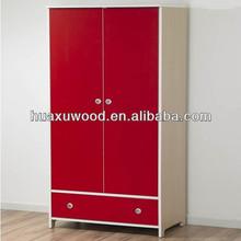 HX-MZ508 popular red girls wardrobe