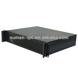 High Quality Aluminium Alloy Front Panel Smart Traffic Control 2U Industrial Computer Case