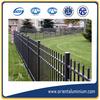decorative extruded aluminum fence