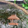 Cheap Round Wooden Garden Decorative Hanging Bird Feeder/Bird House