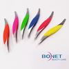 BTZ0017 Silicon Stainless Steel Eyebrow Tweezers