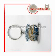 custom CMYK metal keychains
